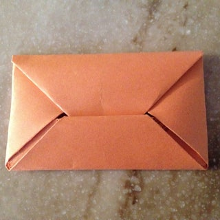 Folding Your Own Envelope -Origami Style