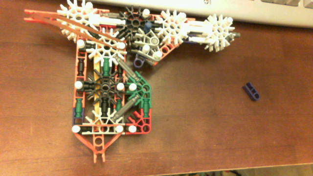 Knex Gun with mag and trigger