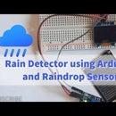 Rain Detector Using Arduino and Raindrop Sensor