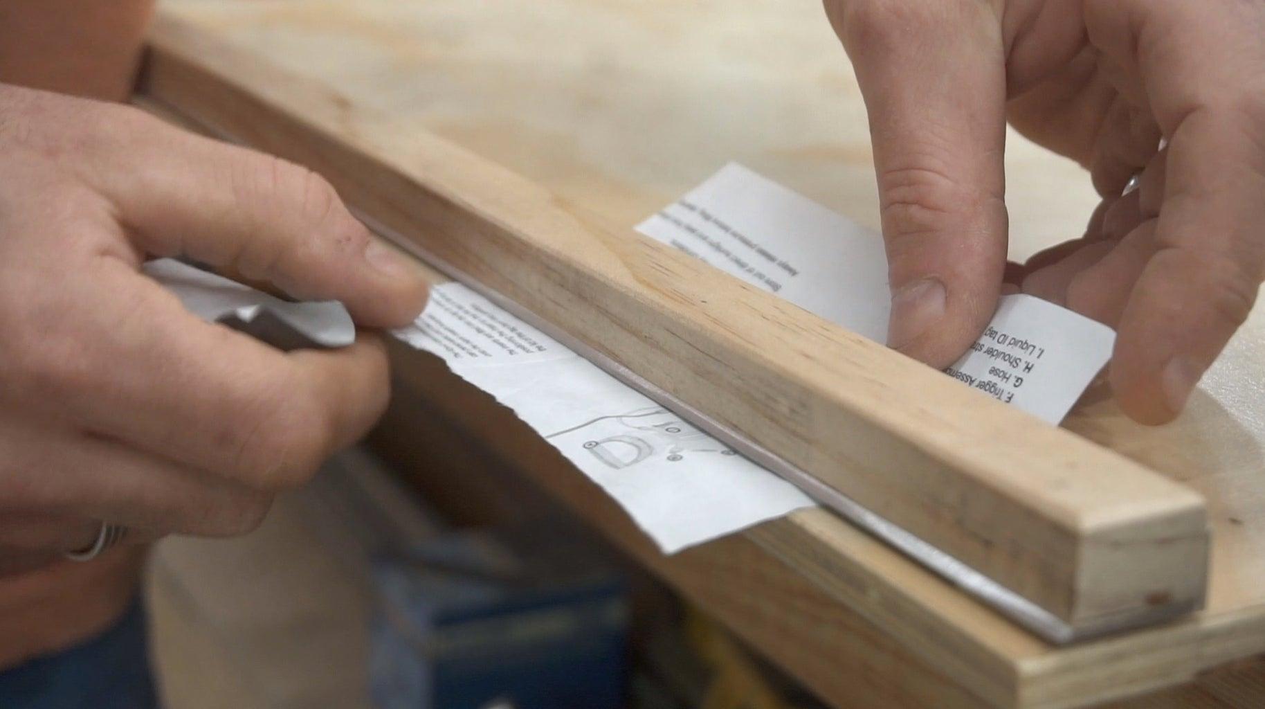 Create the Cutting Blade