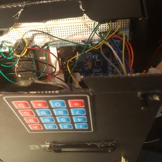 LCD Screen With 74HC595 and Keypad Module