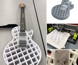 3D Printed Electric Guitar
