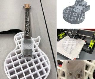3D打印电吉他