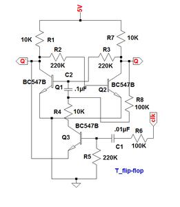 First Flip-Flop Transistors Placing