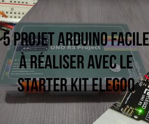 5 Mini Projets Arduino À Réaliser Avec Le Starter Kit Elegoo