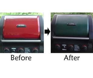 Custom Color Your Grill