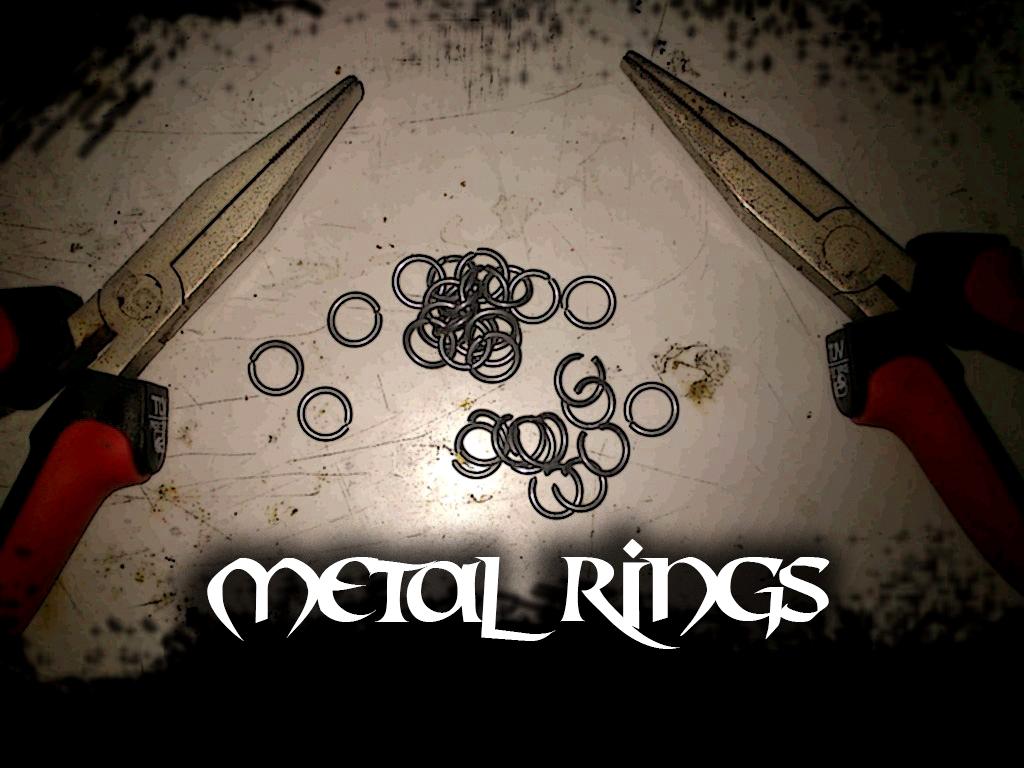 How to make metal rings