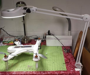LED Conversion of Magnifier Lamp