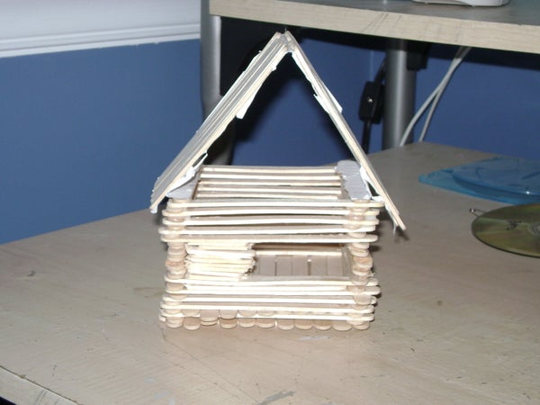 House of Popsicle Sticks