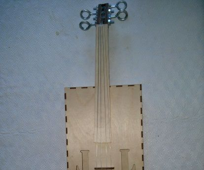 How to help your child make a Violin