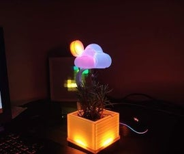 Unique Desk Weather Station Showpiece