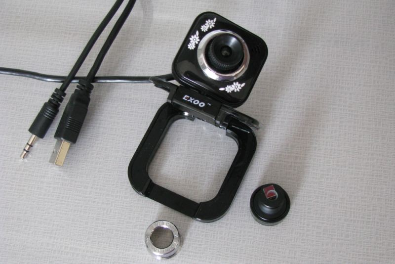 Wide-angle web cam