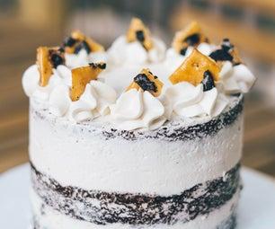 用你所拥有的来做最好的素食检疫蛋糕!