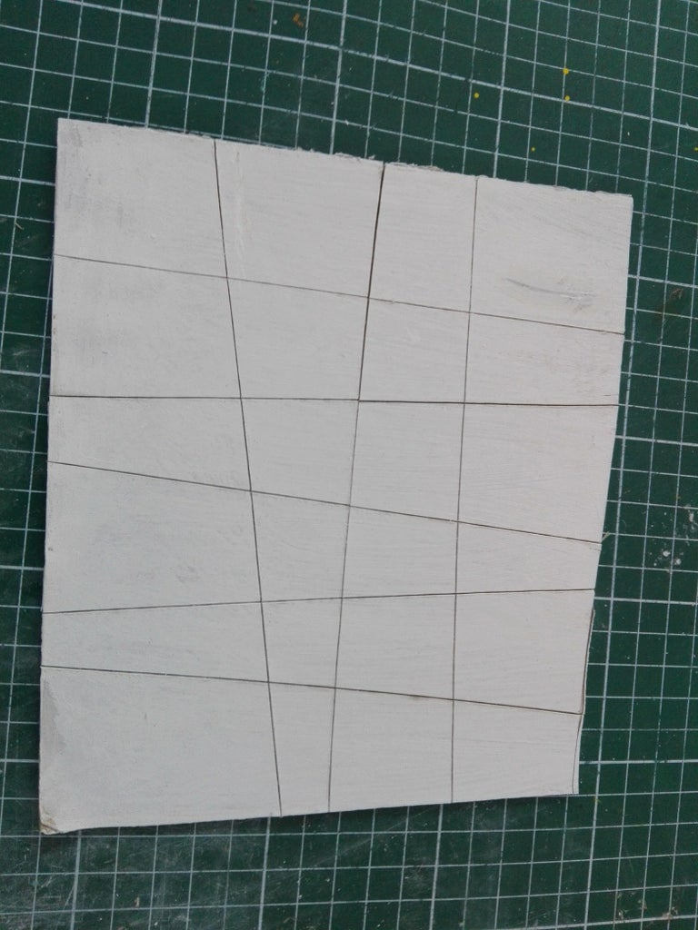 Paint the Cardboard or Mat Board