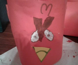 Angry Birds Red Bird Flower Pot