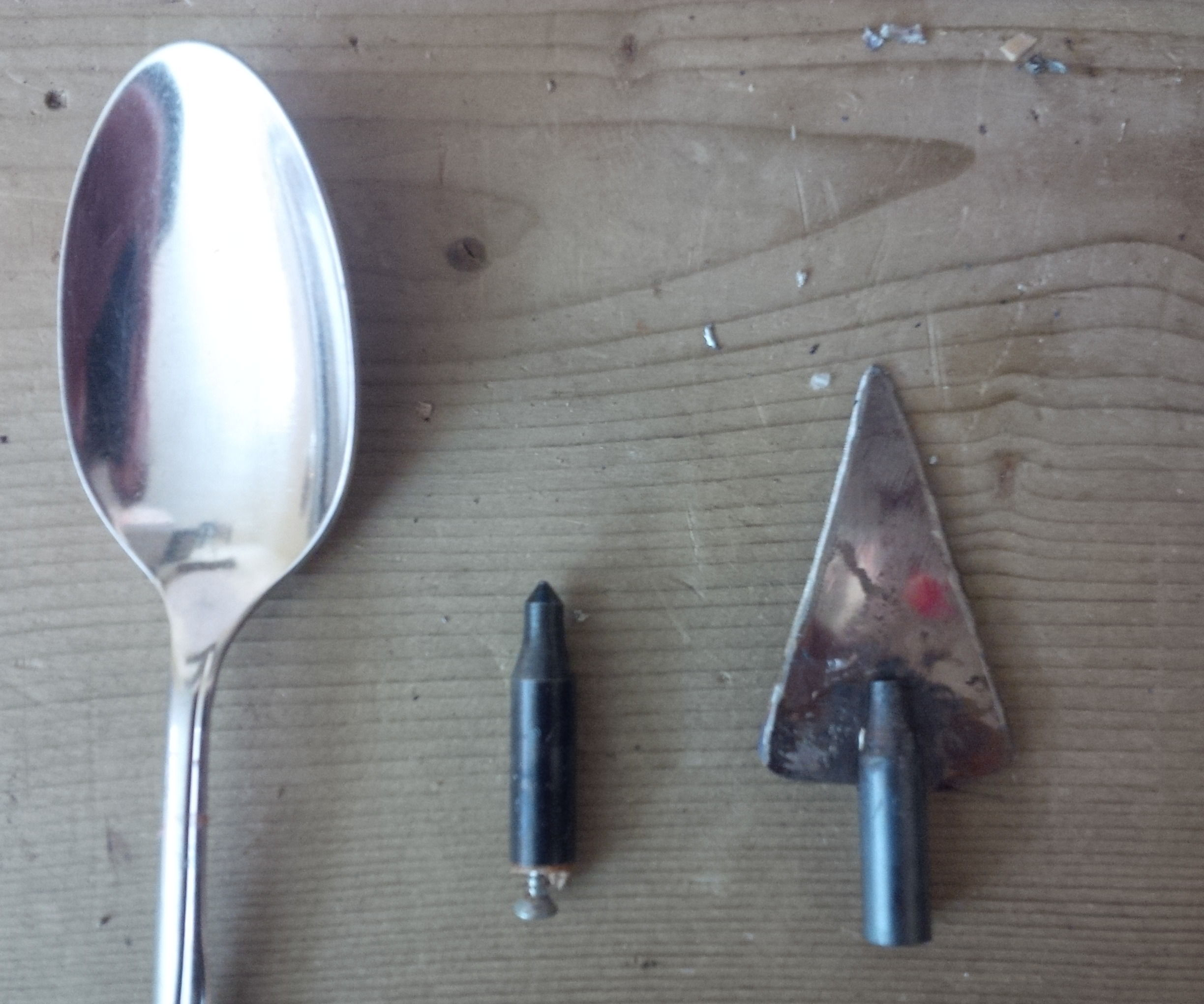 From spoon to broadhead