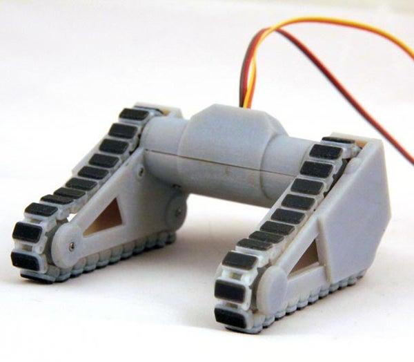 Robot Caterpillar Tank Treads, Johnny Five Style - 3D Print