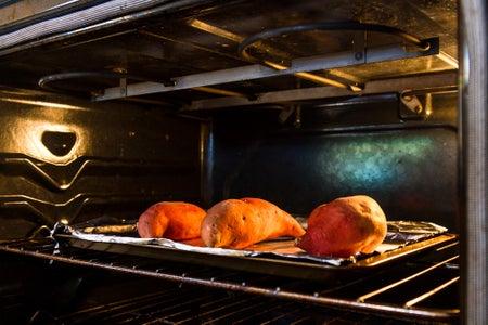 Bake Your Sweet Potato