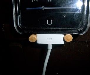 A Simple IPhone/iPod Dock Alternative