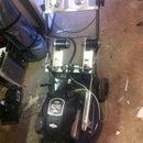 Remote control lawnmower