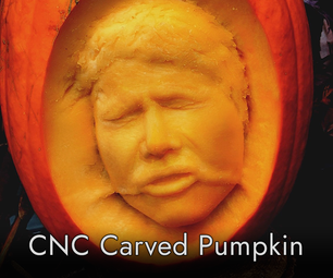 CNC Carved Han Solo in Pumpkinite
