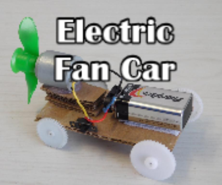 Electric Fan Car
