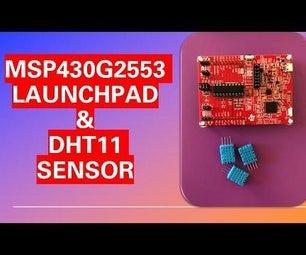 MSP430 & DHT11 Temperature / Humidity Sensor