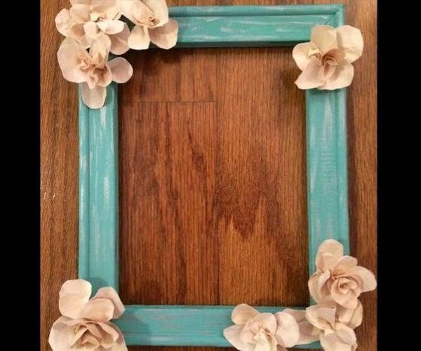Rustic Flower Frame