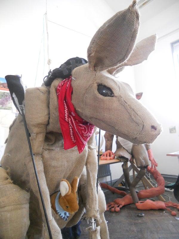 Kangaroo Puppet