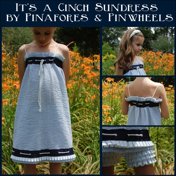 """It's a Cinch"" Sundress"