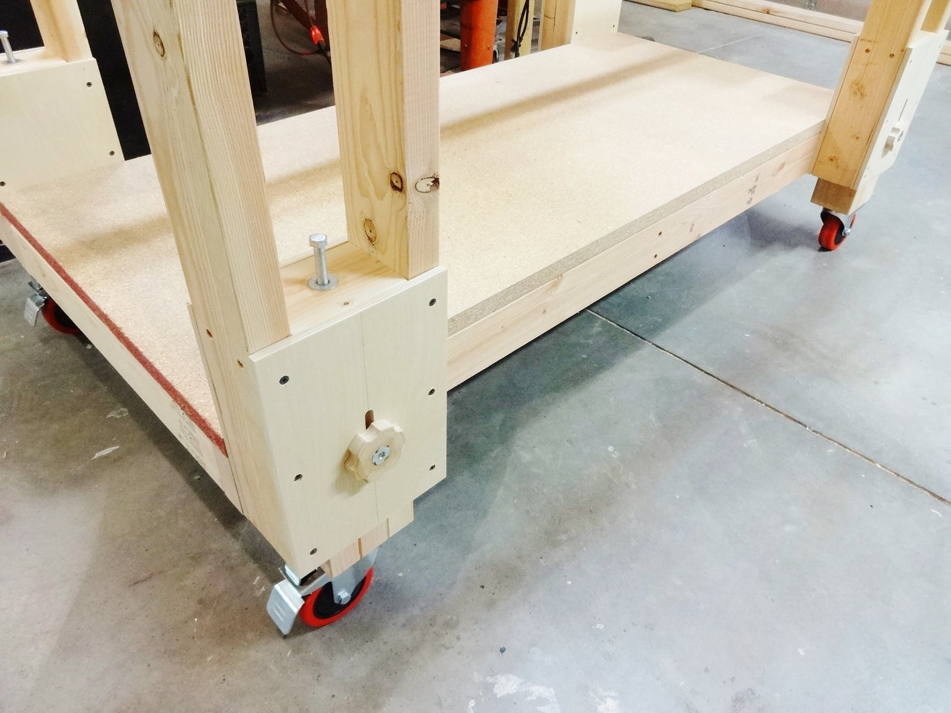Install in Table Legs