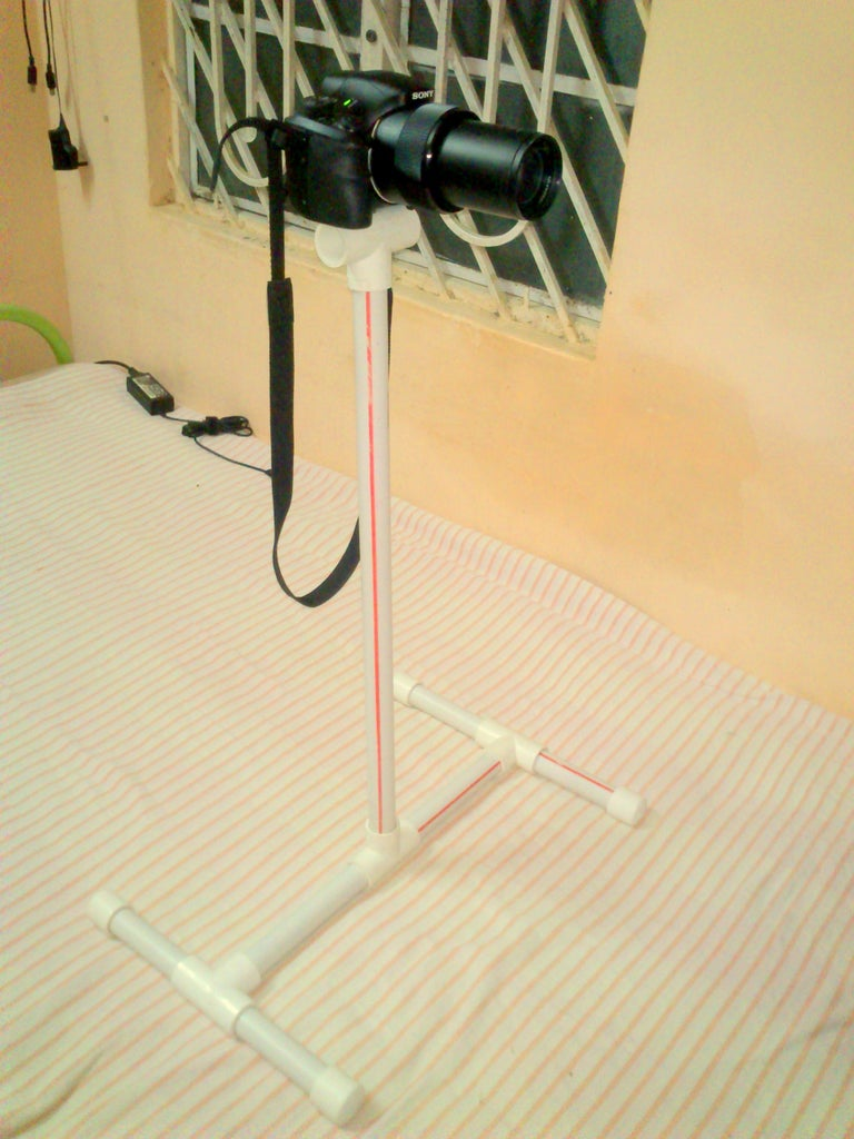 Make DSLR Mount Stand for Less Than 6 $ Using PVC Pipes(Monopod/Tripod for Any Camera)