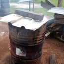 How I Make Biochar /Charcoal in a 44 Gallon Drum 2 Methods