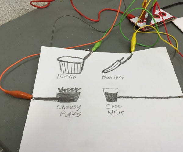 Order by Touch Menu With Makey Makey