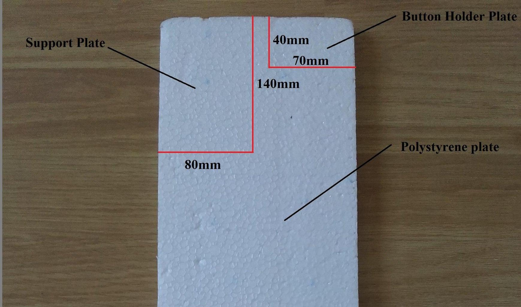 Polystyrene Plate Cutting