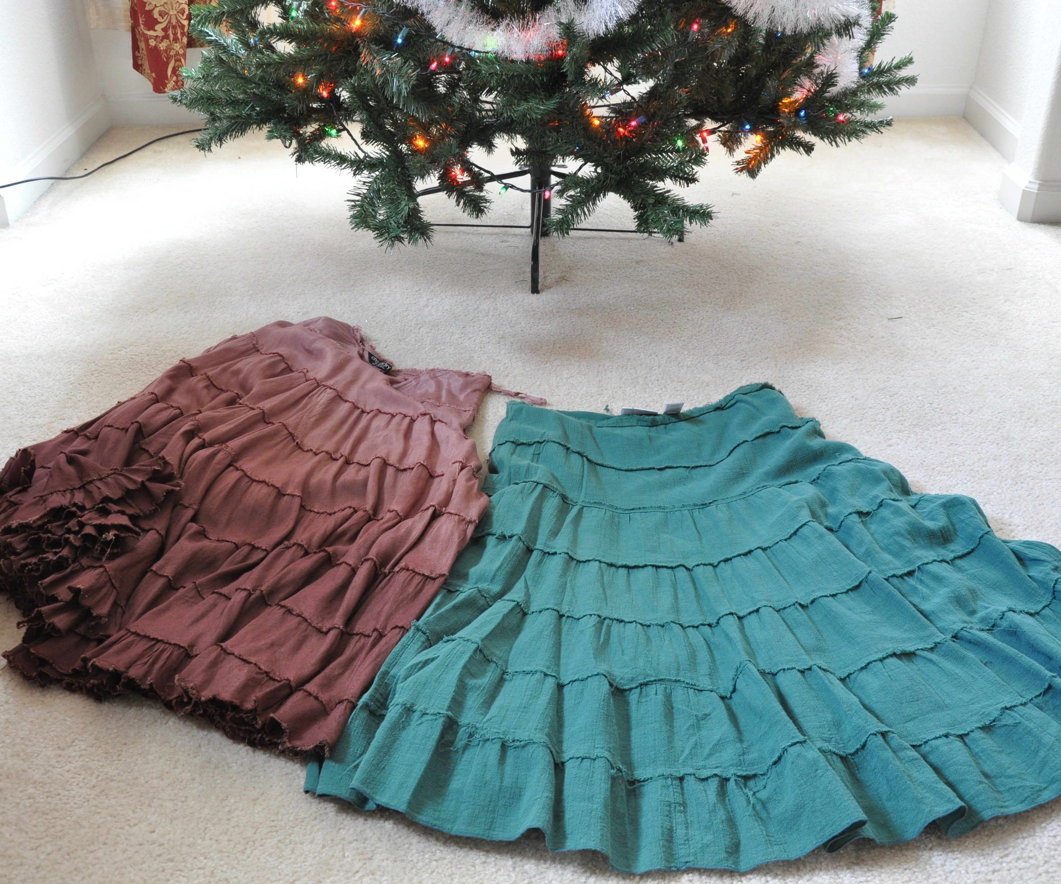 Easy Alternative Tree Skirts 7 Steps With Pictures Instructables