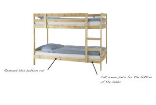 How To Build A Bed Mydal Upgrade 8 Steps With Pictures Instructables