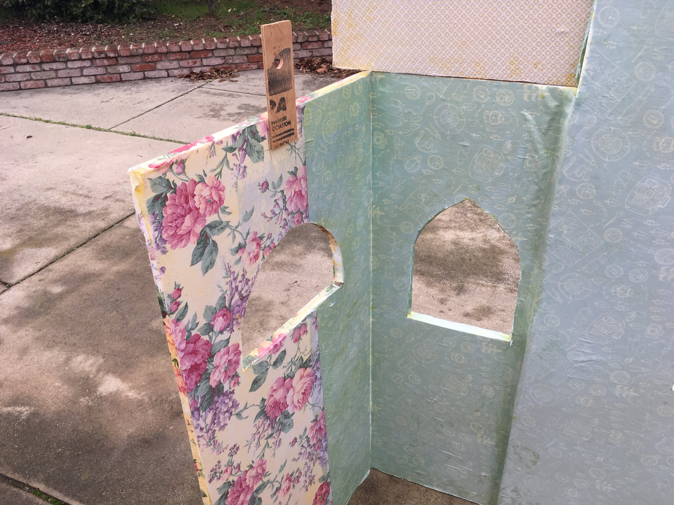Covering Cut Foam Pieces With Fabric