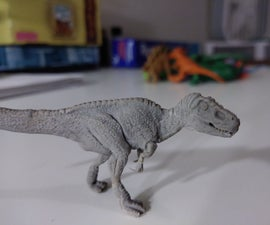 How to Sculpt Tiny Dinos