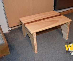 Simple Step Stool - Off the Cuff