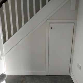 Under Stairs Hidden Storage Drawers