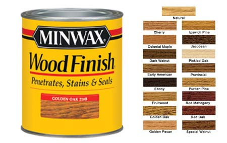 Buy Wood Stain + Other Stuff
