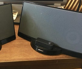 Add Bluetooth to a Bose Series I SoundDock