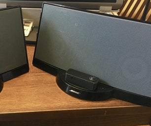 Bose Series I Sounddock Bluetooth Conversion