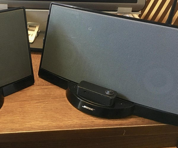 Bose Series I Sounddock Bluetooth Conversion