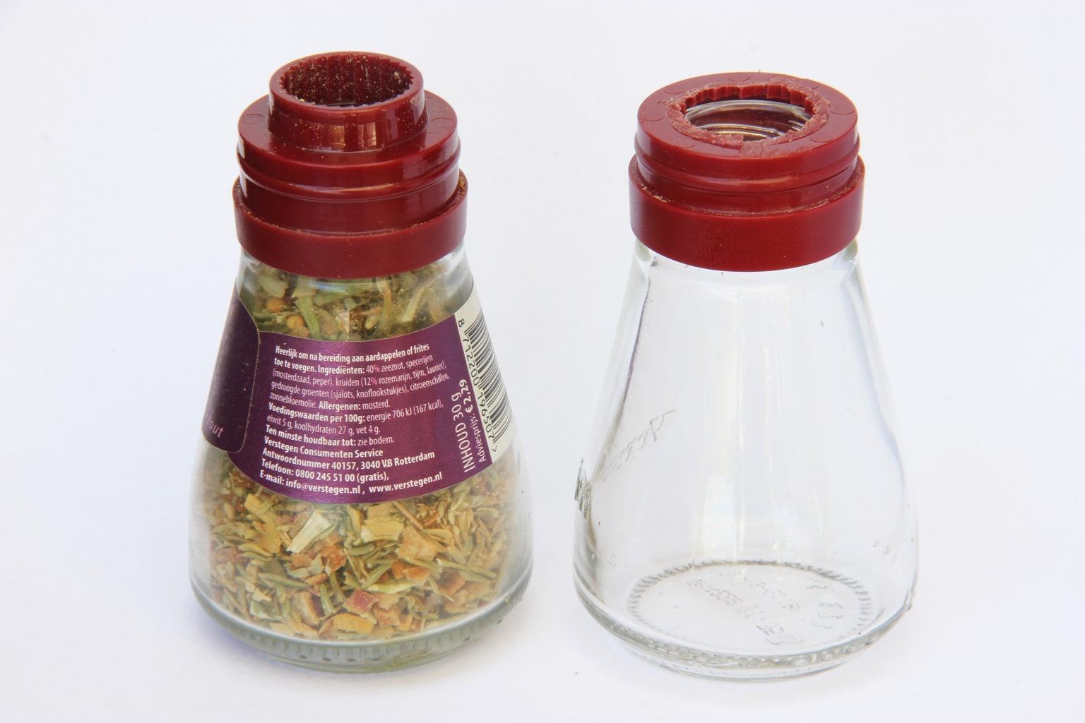 Prepare the Spice Jar