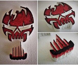 Suicide Squad Skull - DIY Craft
