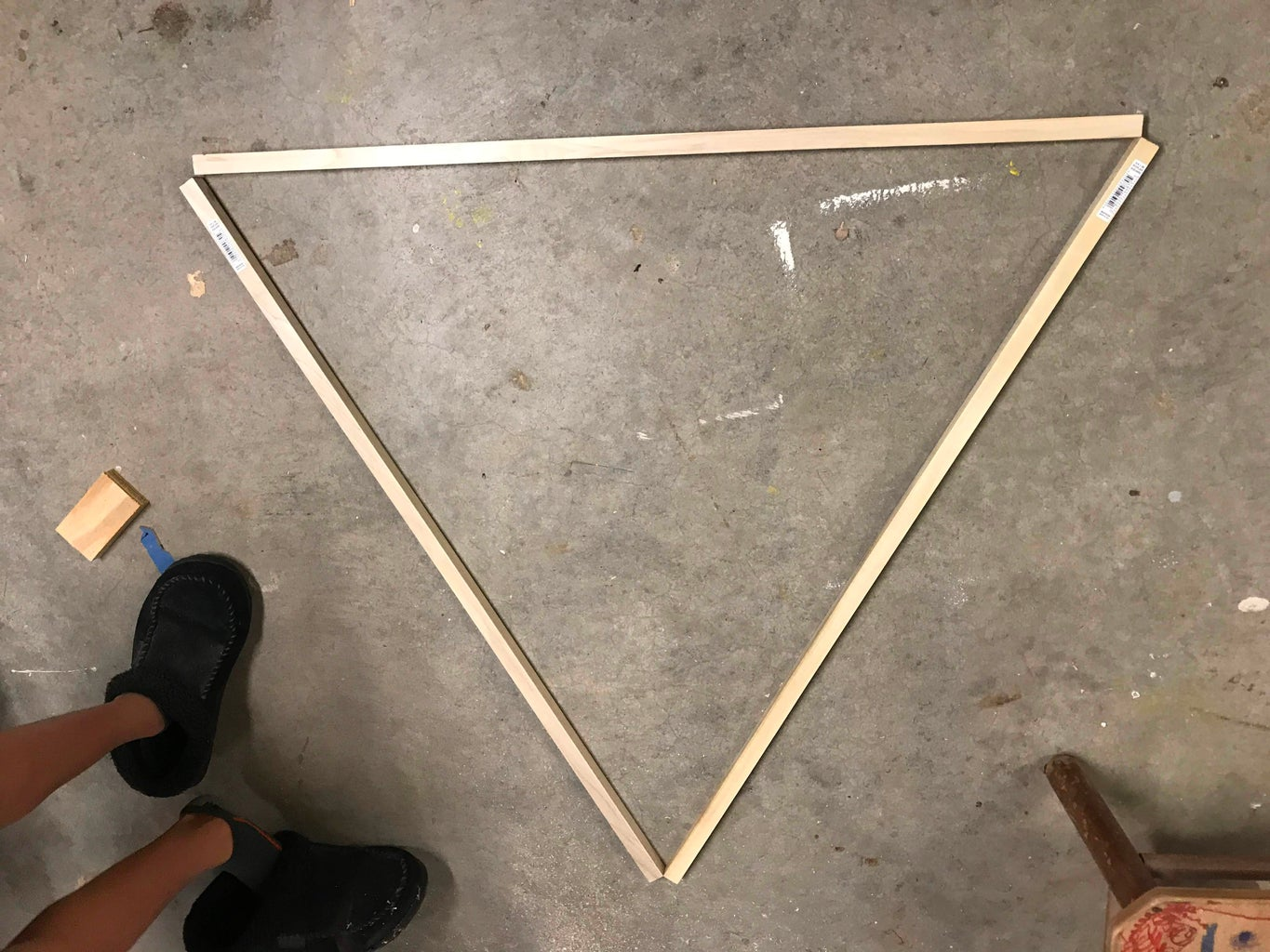 Mark and Cut the Triangle