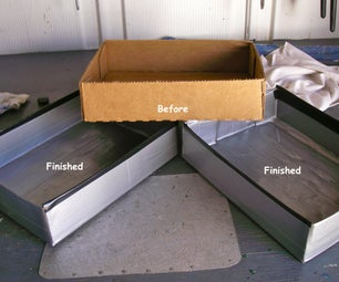 CARDBOARD/DUCT TAPE PARTS TRAYS