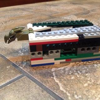 Lego Raspberry Pi Case (for a & B Model)